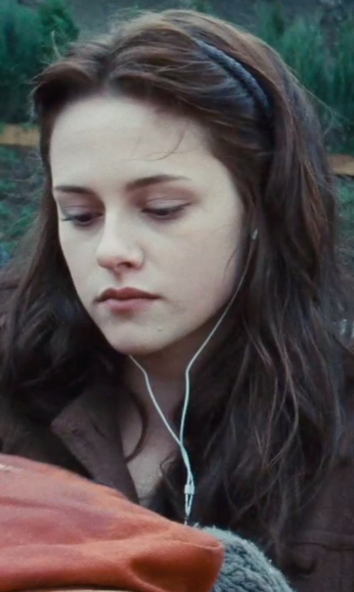 Kristen Stewart with Sony Earbud Headphones in Twilight
