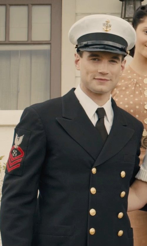 Alex Russell with Light House Uniform Company Semi-Pershing Cap in Unbroken