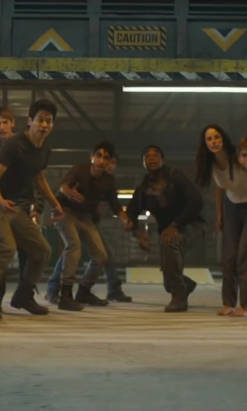 Alexander Flores with Dockers D3 Crossover Cargo Pants in Maze Runner: The Scorch Trials