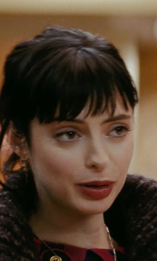 Krysten Ritter with Lord & Taylor White Gold  And Diamond Flower Necklace in Confessions of a Shopaholic