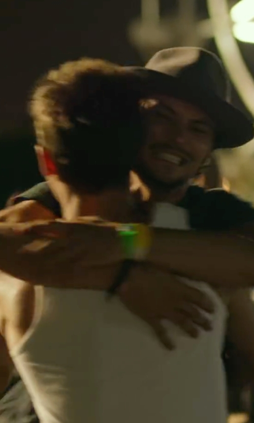 Shiloh Fernandez with Tom Ford Nashville Leather Bracelet in We Are Your Friends