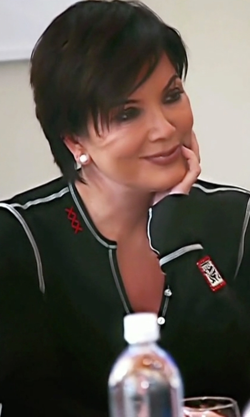 Kris Jenner with Gorsuch LTD. Vail Edelweiss Henley Top in Keeping Up With The Kardashians