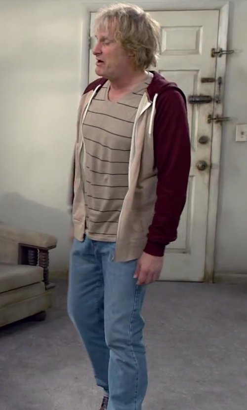Jeff Daniels with Genetic Denim Denim Pants in Dumb and Dumber To