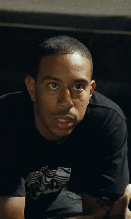 Ludacris with The Hundreds Ram T-Shirt in Fast Five