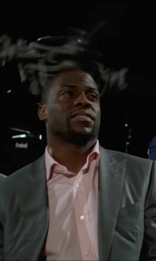 Kevin Hart with Express Photographer Suit Jacket in Central Intelligence