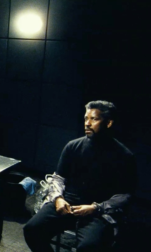 Denzel Washington with J. Lindeberg Paulie Wool Trousers in Safe House