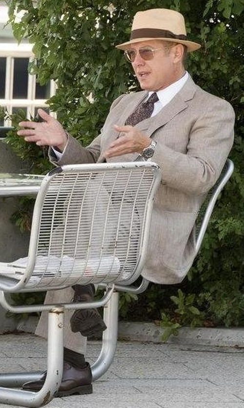 James Spader with Wolverine Luke Oxford Shoes in The Blacklist