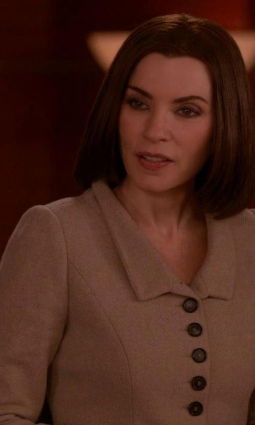 Julianna Margulies with Marni Single Breasted Blazer in The Good Wife