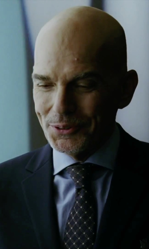 Billy Bob Thornton with Nordstrom 'Boardroom' Silk Tie in Our Brand Is Crisis
