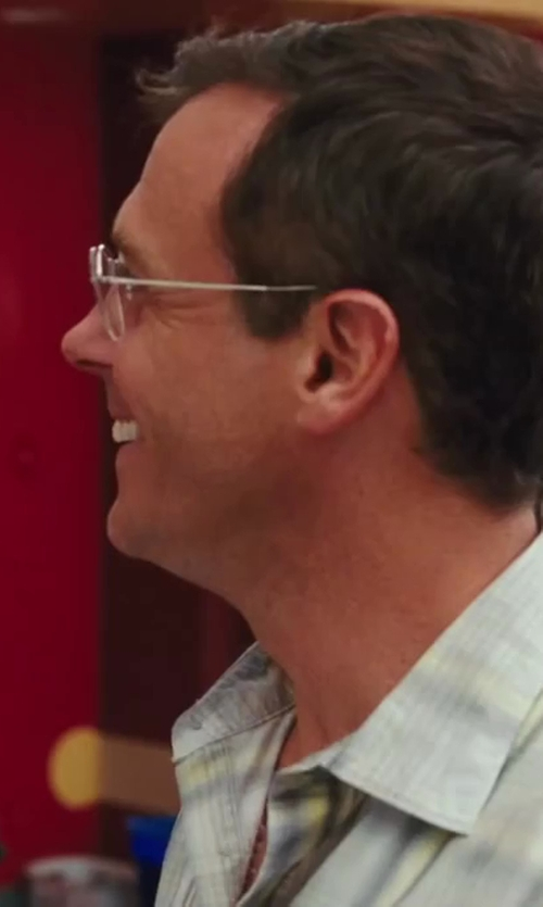 David Eigenberg with Thom Browne Silver Wire Frame Optical Glasses in Sex and the City 2