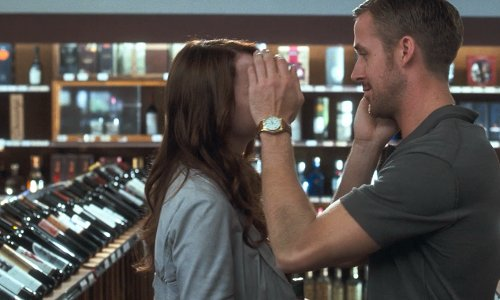 Ryan Gosling with Red Carpet Wine and Spirits Glendale, CA in Crazy, Stupid, Love.