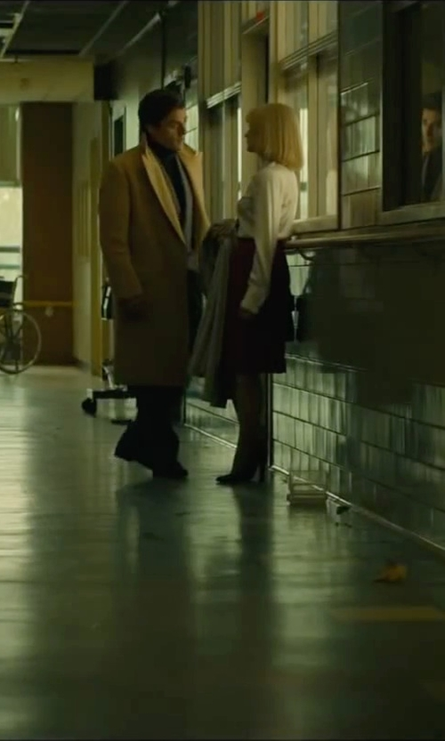 Jessica Chastain with Rag & Bone Stanton Leather Chelsea Ankle Boots in A Most Violent Year