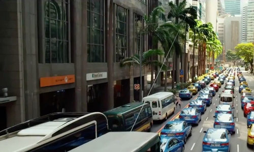 Unknown Actor with 112 Robinson Rd Building Singapore in Hitman: Agent 47