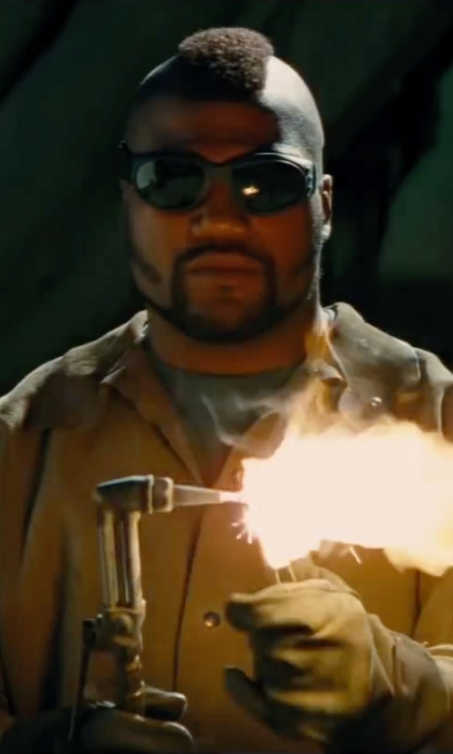 Quinton 'Rampage' Jackson with Yquelle Welding Safety Glasses in The A-Team