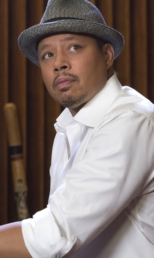Terrence Howard  with Bailey of Hollywood Mannes Fedora Hat in Empire