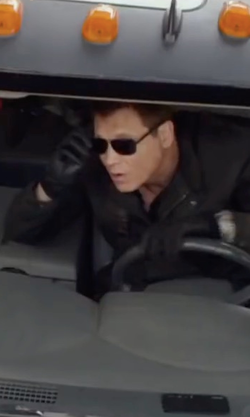 Holt McCallany with Dolce & Gabbana Metal Frame Sunglasses in Monster Trucks