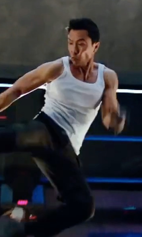 Donnie Yen with Hanro Cotton Pure Tank Top in xXx: Return of Xander Cage
