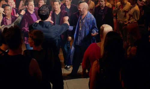 David Cross with Brooks Brothers Velvet Slippers in Pitch Perfect 2