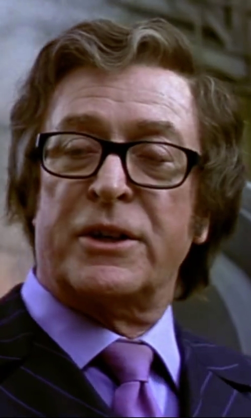 Michael Caine with Hugo Boss Cotton Dress Shirt in Austin Powers in Goldmember