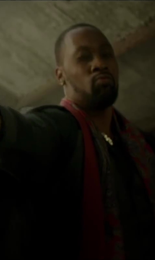 RZA with J.CREW LUDLOW WOOL SUIT JACKET in Brick Mansions
