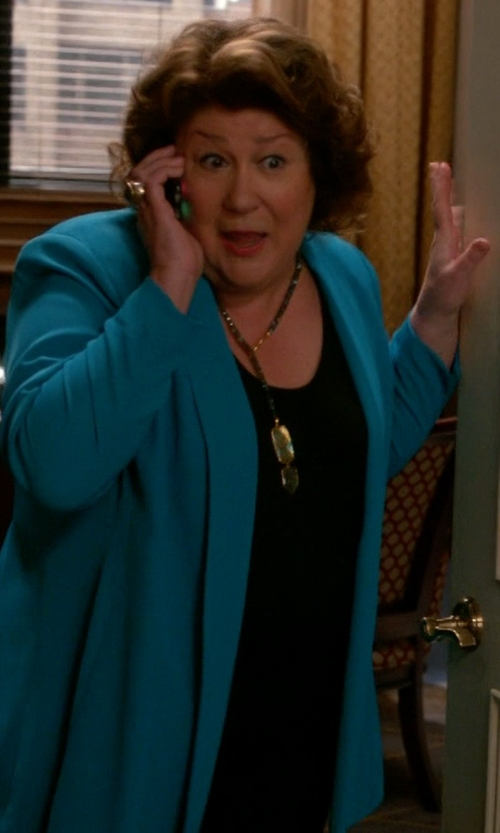 Margo Martindale with Eileen Fisher Silk Scoop-Neck Tank Top in The Good Wife