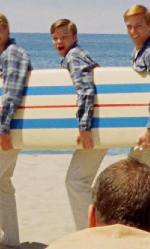 Brett Davern with Bills Khakis 'Vintage' Twill Pants in Love & Mercy