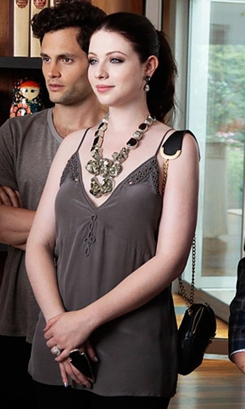 Michelle Trachtenberg with Charles Albert Arrowhead Ring in Gossip Girl