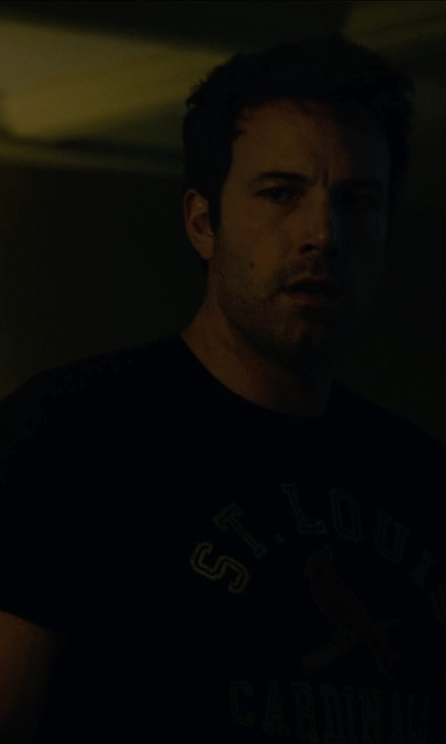 Ben Affleck with '47 Brand Men's St. Louis Cardinals Scrum T-Shirt in Gone Girl
