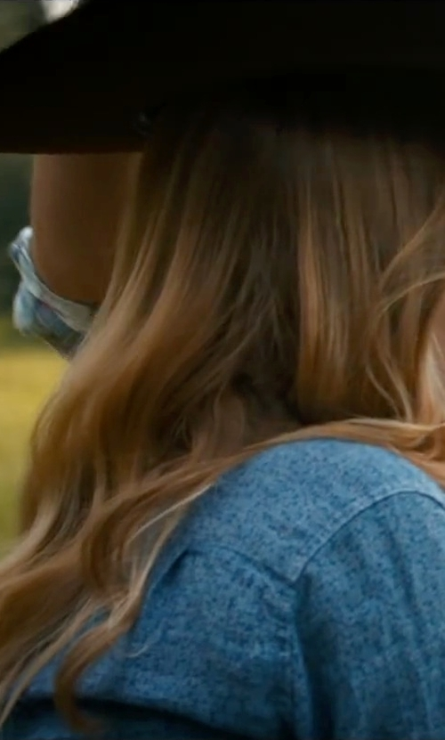 Britt Robertson with AYR The Clean Shirt in The Longest Ride