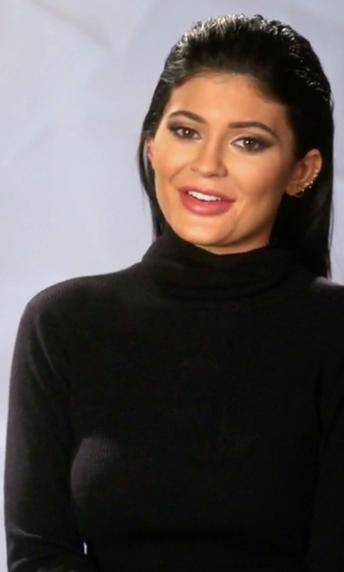 Kylie Jenner with Vince Favorite Turtleneck Sweater in Keeping Up With The Kardashians