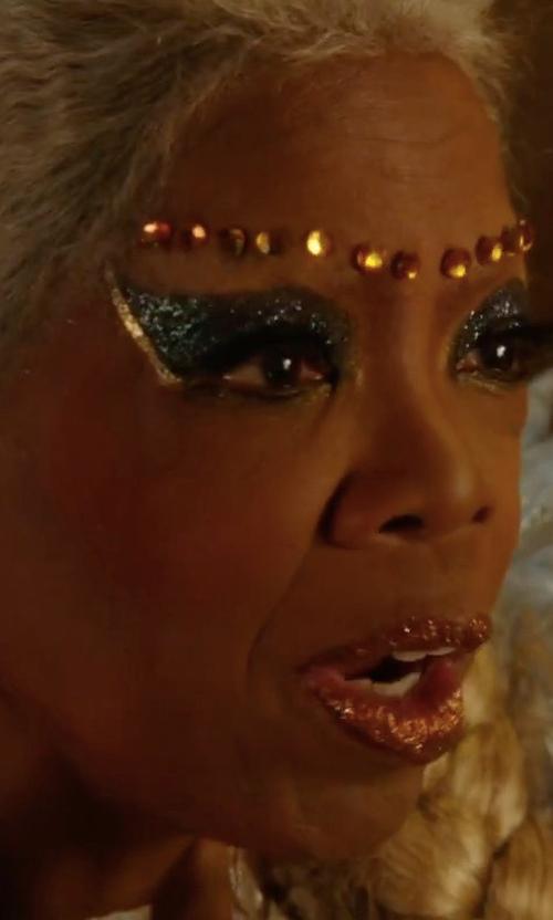 Oprah Winfrey with Jose & Maria Barrera Victorian-Style Crystal Drop Earrings in A Wrinkle In Time