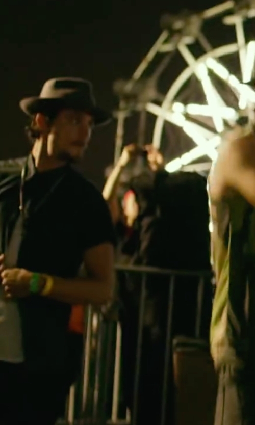 Shiloh Fernandez with Versace Jeans Couture Button Down Shirts in We Are Your Friends