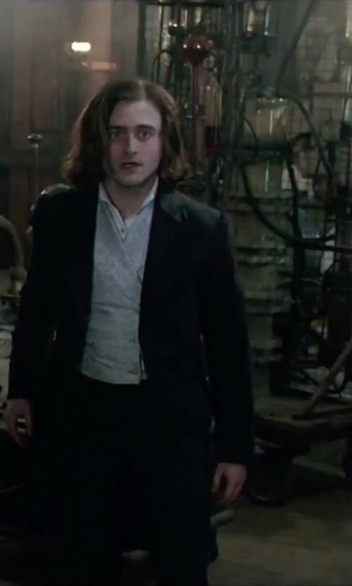 Daniel Radcliffe with Ralph Lauren Cotton Shirt in Victor Frankenstein