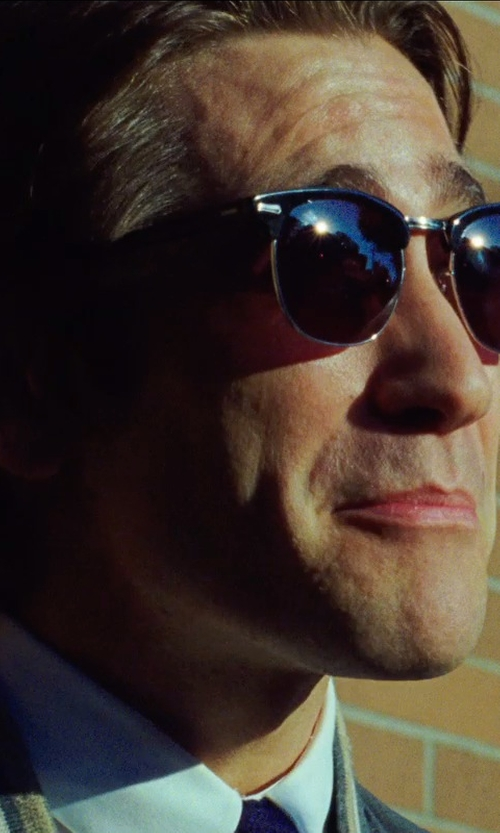 Jake Gyllenhaal with Shuron Escapades Sunglasses in Nightcrawler
