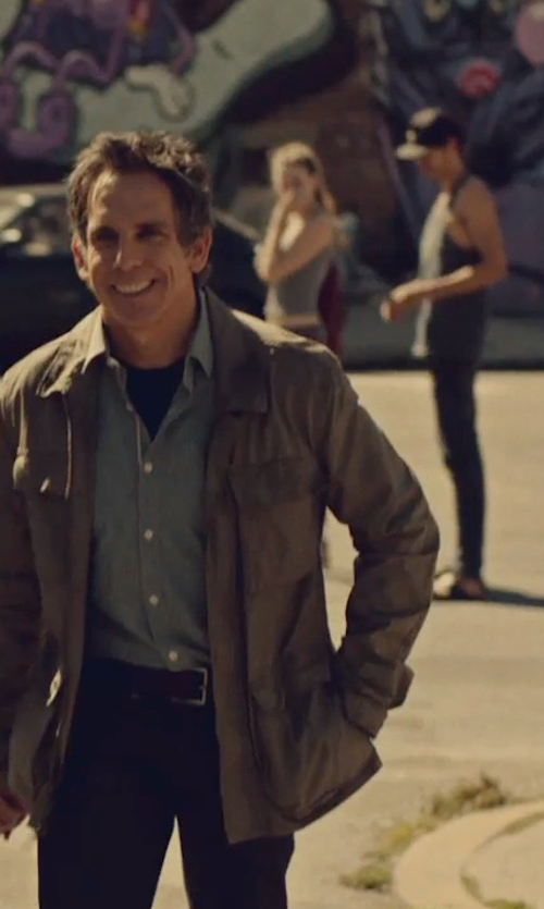 Ben Stiller with Merrell Men's Bare Access Ultra Trail Running Shoes in While We're Young