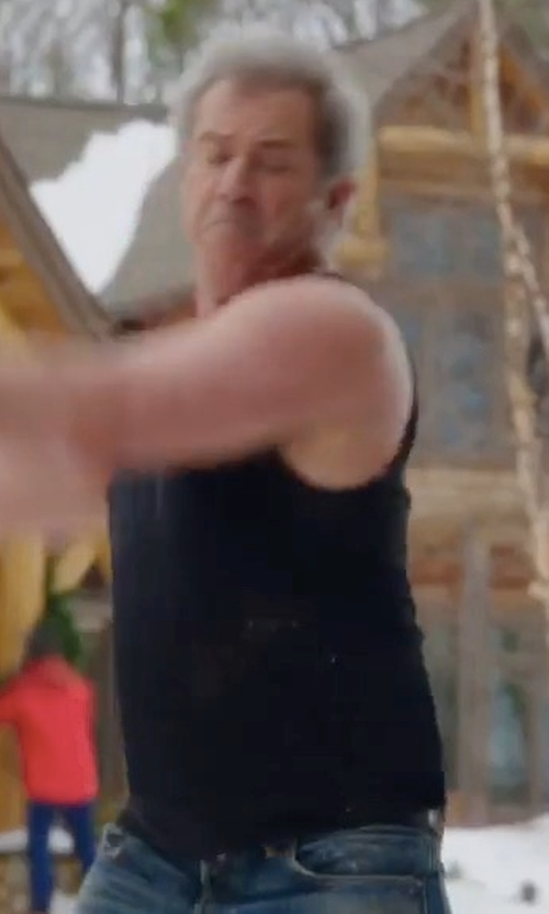 Mel Gibson with MPG Spark Essential Tank Top in Daddy's Home 2