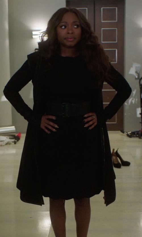 Naturi Naughton with Tory Burch Aubrey Dress in Power