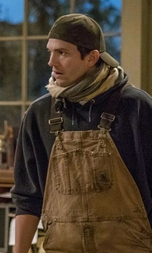 Ashton Kutcher with Kangol Cotton Adjustable Baseball in The Ranch