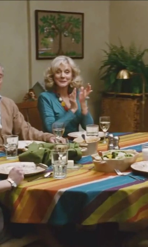 Blythe Danner with Amanda Uprichard Crossover Blouse in Little Fockers