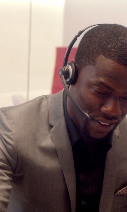Kevin Hart with J. Lindeberg Hopper Wool Jacket in Top Five
