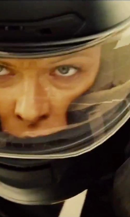 Rebecca Ferguson with AGV Corsa Solid Helmet in Mission: Impossible - Rogue Nation