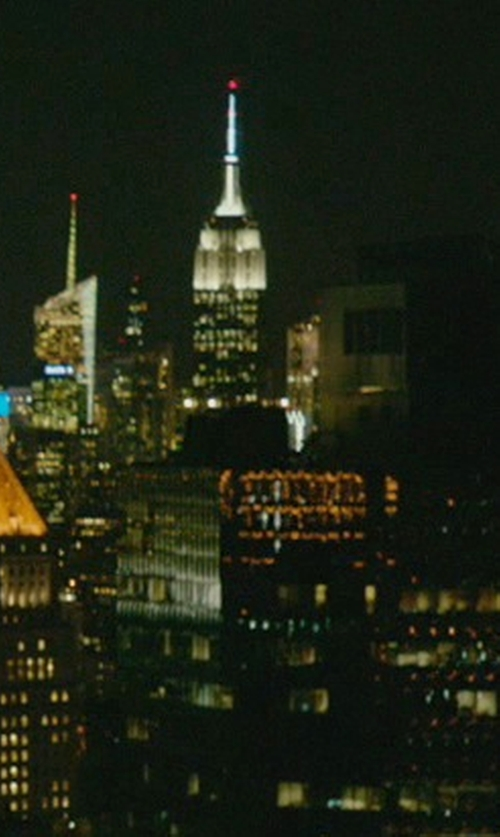 Unknown Actor with Empire State Building New York City, New York in John Wick
