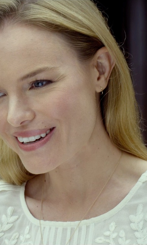 Kate Bosworth with Je T'aime Nolaje Maude Vintage-Inspired Blouse in Before I Wake
