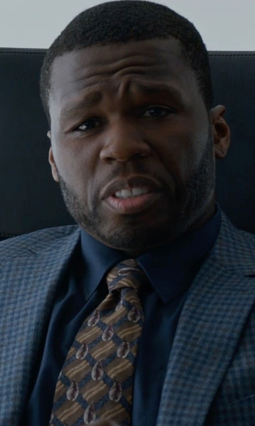 50 Cent with Jack Victor Conway Check Sport Coat in Southpaw