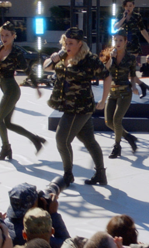 Rebel Wilson with Bloch Militaire Boots in Pitch Perfect 3