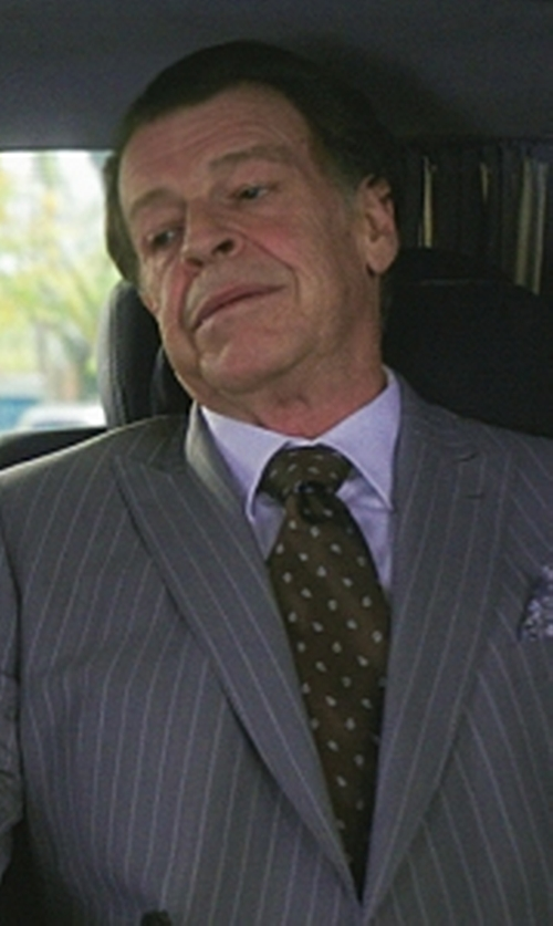 John Noble with Tommy Hilfiger Dot Print Tie in Elementary