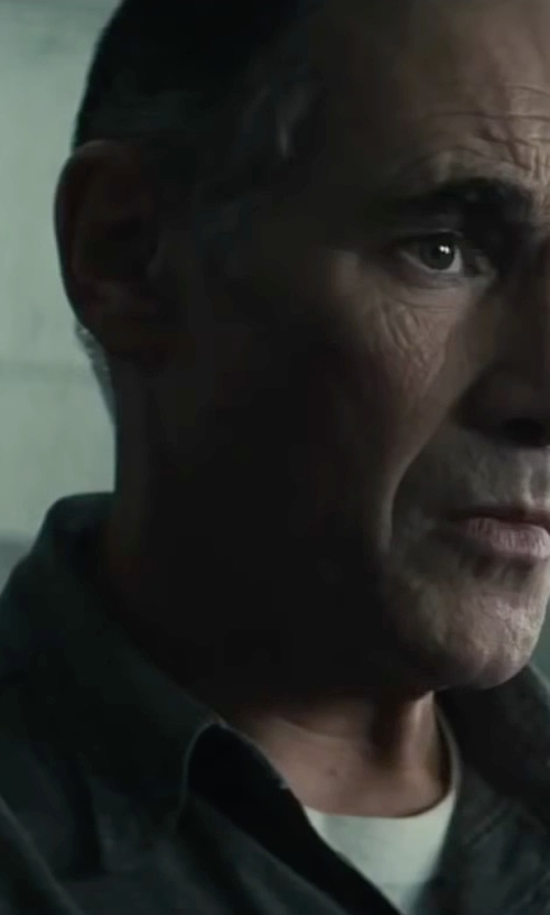 Mark Rylance with Only & Sons Button Shirts in Bridge of Spies