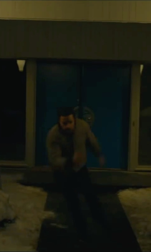 Unknown Actor with Calvin Klein Solid Bonded Performance Bomber Jacket in A Most Violent Year