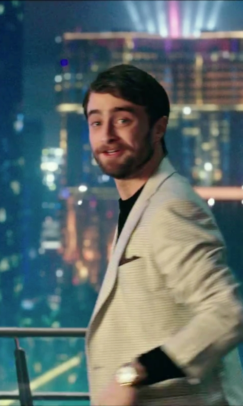 Daniel Radcliffe with Invicta I-Force Watch in Now You See Me 2