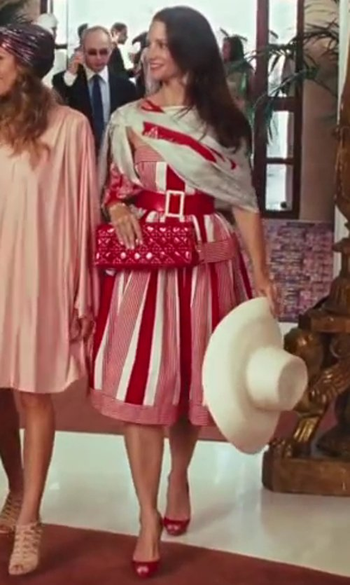 Kristin Davis with Miu Miu Whipstitch Pumps in Sex and the City 2